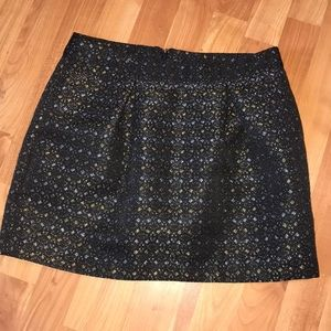 Old navy sparkly black skirt ✨ size 4
